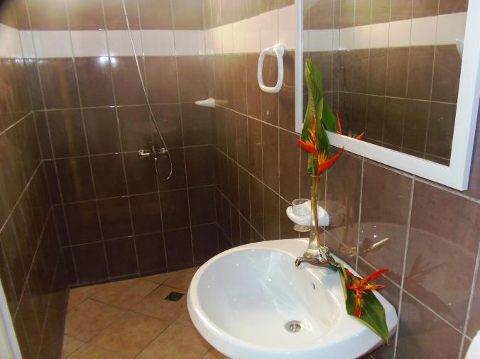 Studio F1 Bathroom (hot water) + Towels